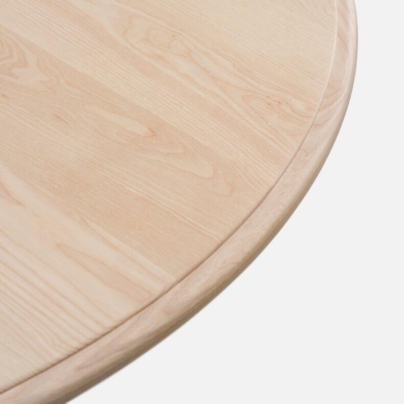 Elliot Oblong Table door Jason Miller in wit geolied essenhout