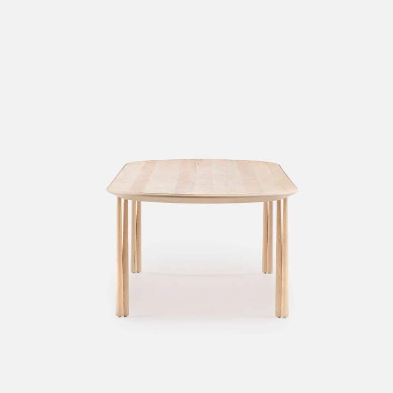 051L ELLIOT OBLONG TABLE SHOWN IN WHITE OILED ASH