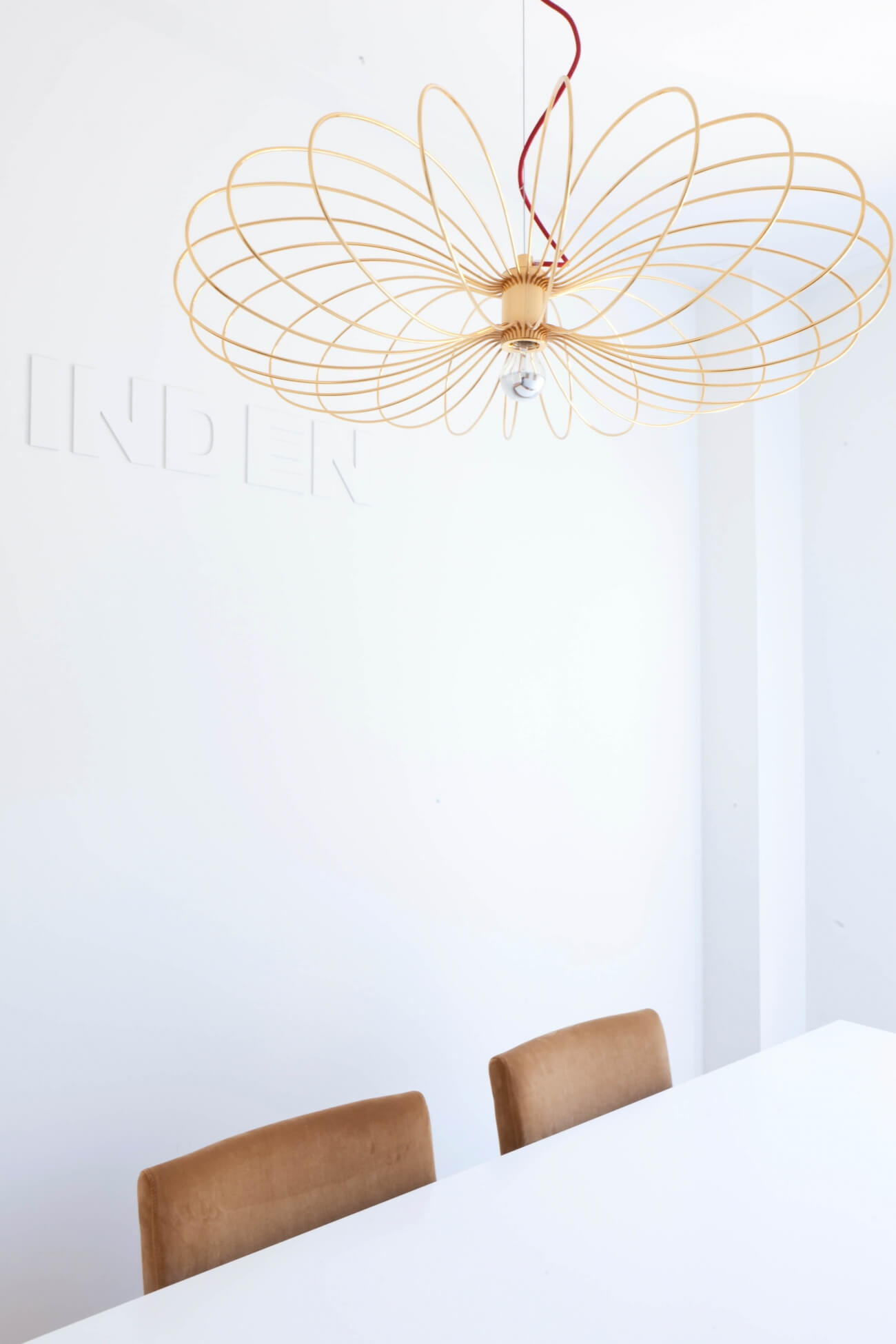 Flying Spider designed by Autoban and produced by De La Espada in office interior by Blue Fabric