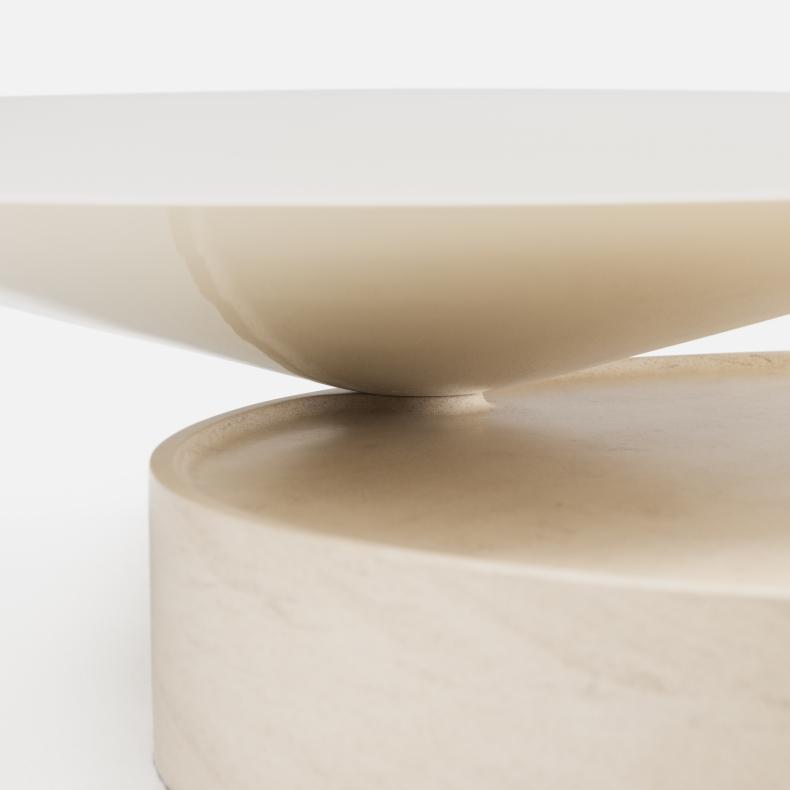 Laurel Coffee Table Marmer door Luca Nichetto - Suite Wood
