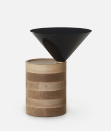 Laurel Side Table door Luca Nichetto - Suite Wood