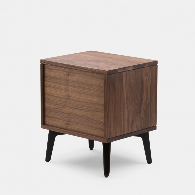 MCQUEEN BEDSIDE CHEST SHOWN IN DANISH OILED WALNUT