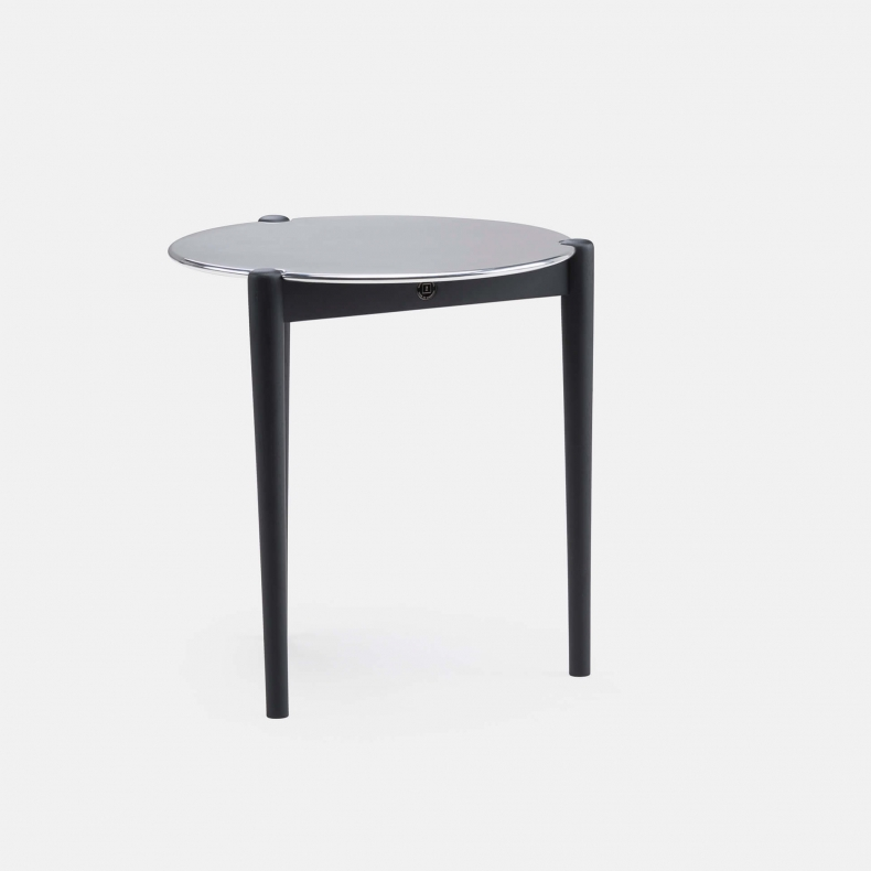 SIDEKICKS OCCASIONAL TABLE SHOWN IN BLACK STAINED ASH