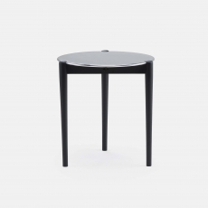 Sidekicks Occasional Table in zwart gebeitst essenhout