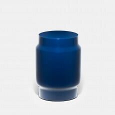 Lianou Stool door Neri&Hu in blauwe lak