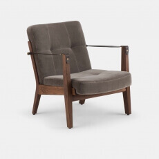 Capo Lounge Armchair door Neri & Hu - Suite Wood