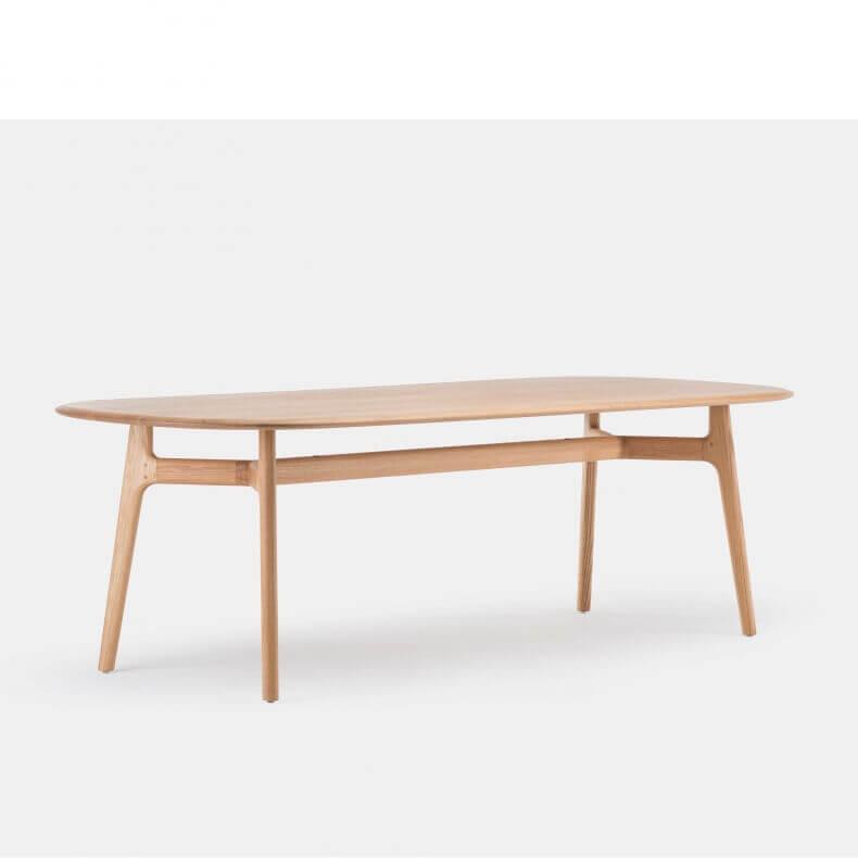 SOLO OBLONG TABLE SHOWN IN DANISH OILED OAK