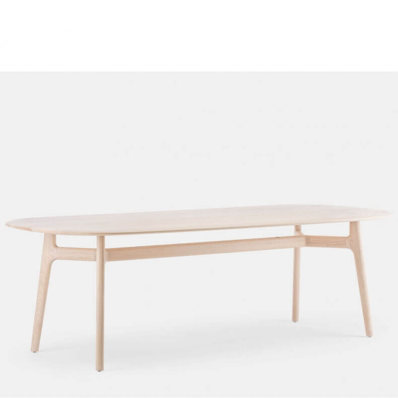 SOLO OBLONG TABLE SHOWN IN WHITE OILED ASH ...
