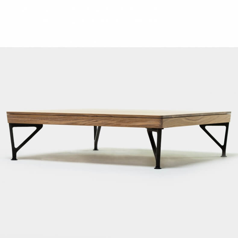 ARMSTRONG COFFEE TABLE SHOWN IN DANISH OILED OAK