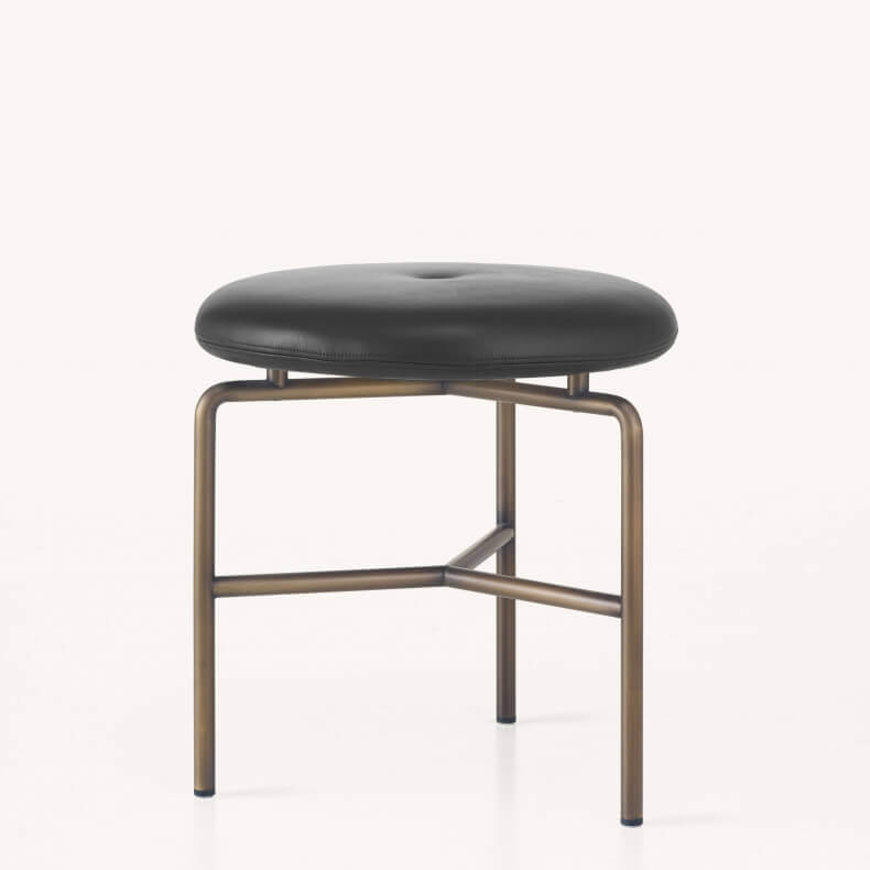 Circular Stools by BassamFellows - Suite Wood