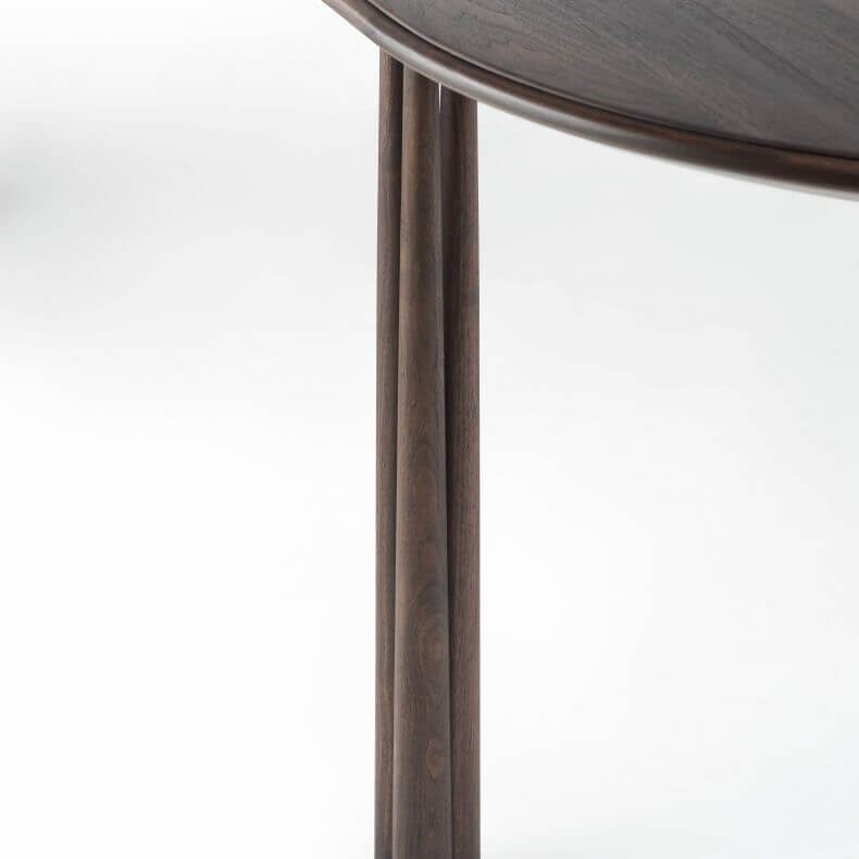 051 ELLIOT OBLONG TABLE SHOWN IN BLACK OILED WALNUT