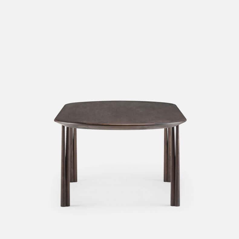 051 ELLIOT OBLONG TABLE SHOWN IN BLACK OILED WALNUT