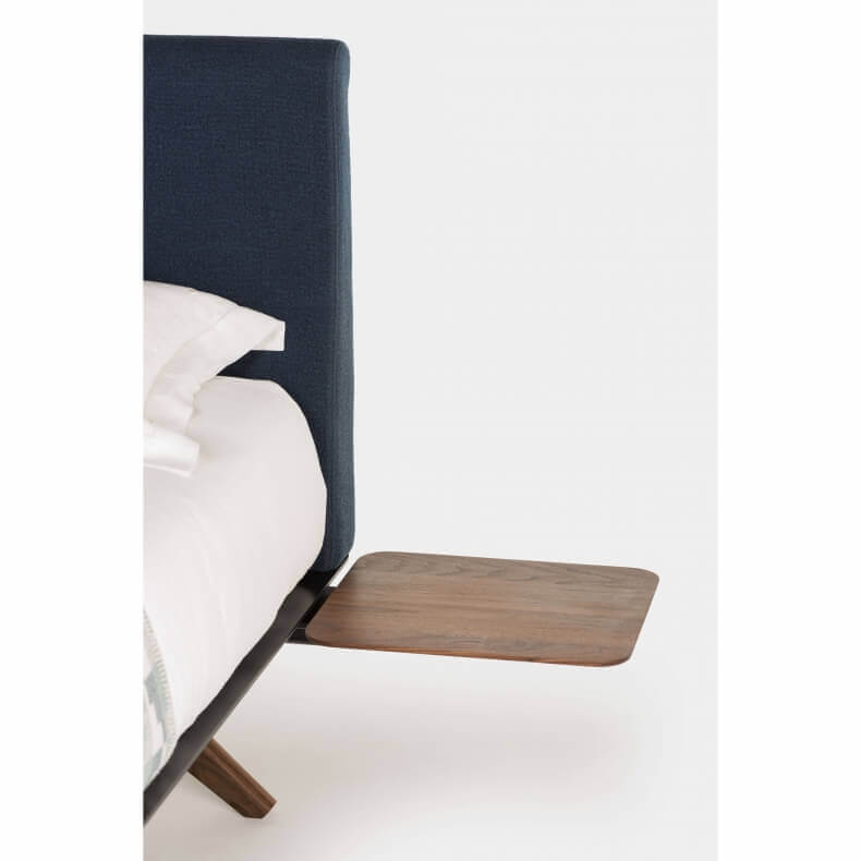 Hepburn Side Table by Matthew Hilton in walnut - Suite Wood