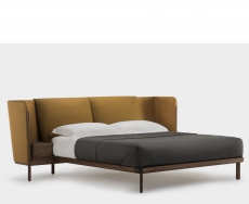 Low Dubois Bed by Luca Nichetto - Suite Wood