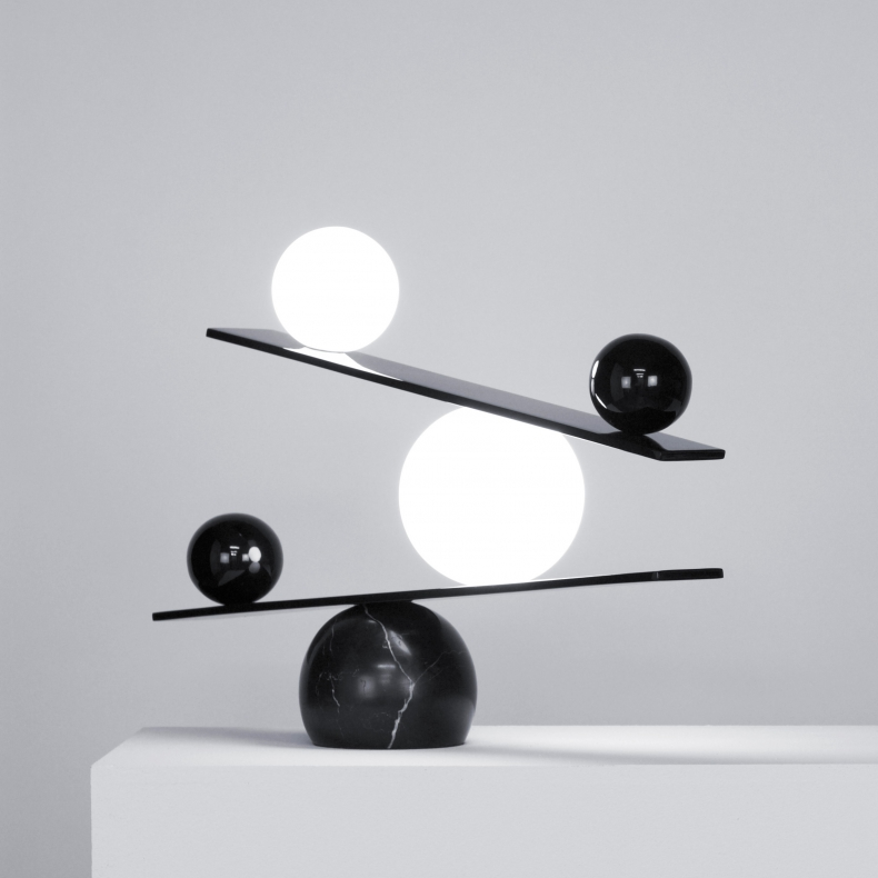 Oblure Balance Black