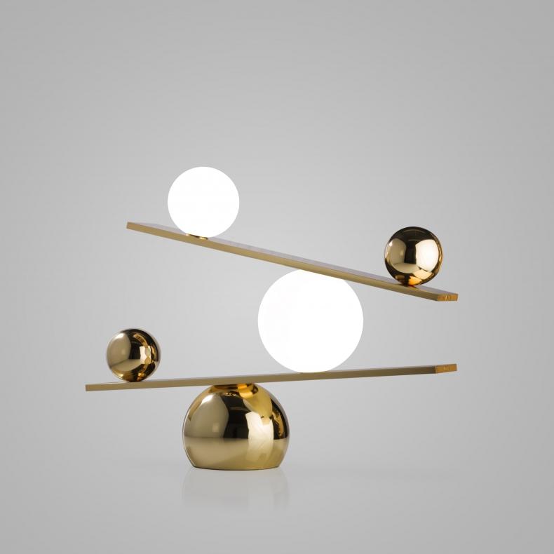 Oblure Balance Brass