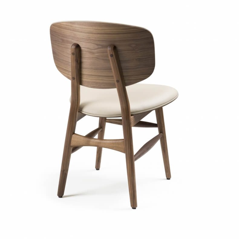 Butterfly Chair by Autoban in walnut with leather