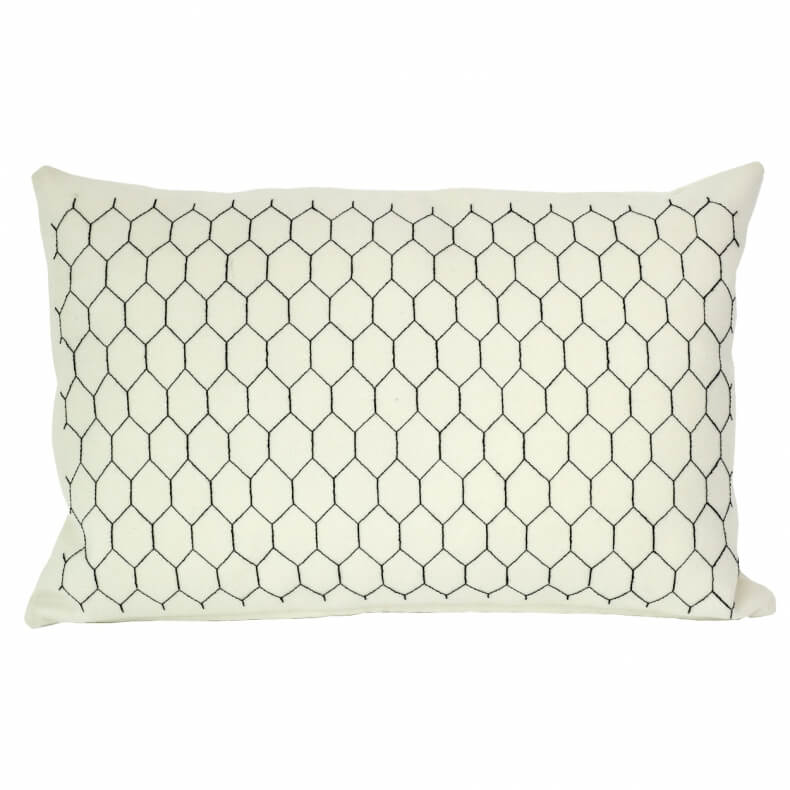 Charlene Mullen Cushion Chicken Wire