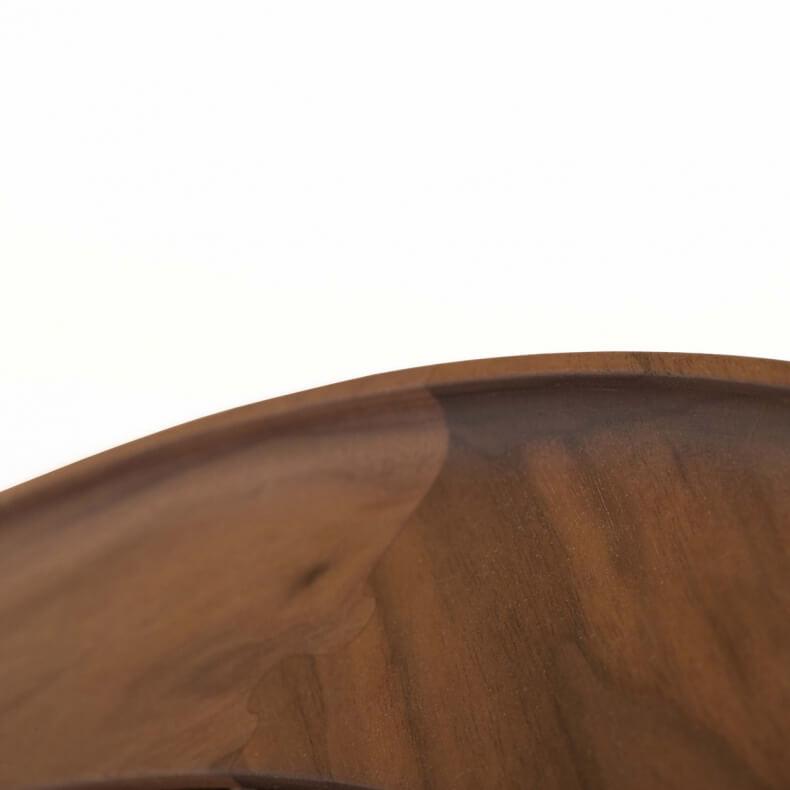 CONISTON LARGE ROUND MIRROR SHOWN IN DANISH OILED WALNUT