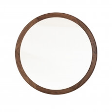 CONISTON LARGE ROUND MIRROR SHOWN IN DANISH OILED WALNUT