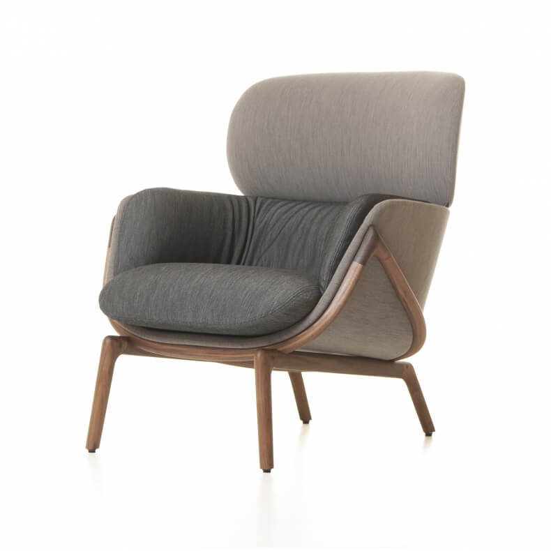 Luca Nichetto Elysia Lounge Chair Door De La Espada