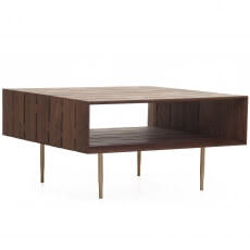 381M HORIZON COFFEE TABLE SHOWN IN DANISH OILED WALNUT