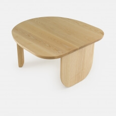 Kim Side Table door Luca Nichetto in Deens geolied essenhout