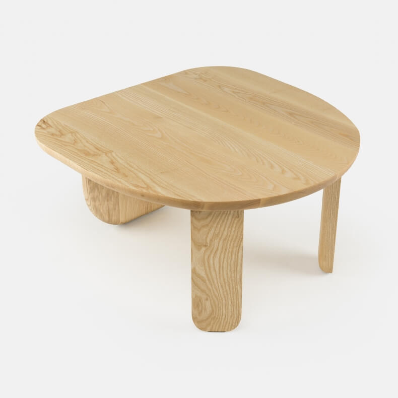 Kim Side Table by Luca Nichetto in Danish Oiled Ash