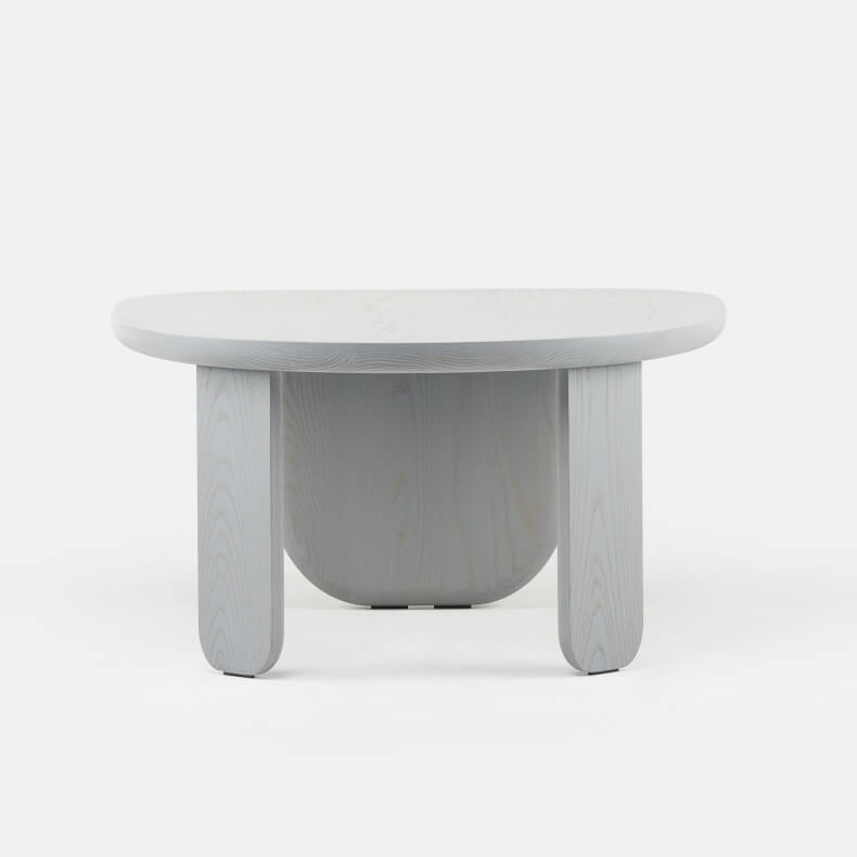 Kim Side Table by Luca Nichetto in Grey Stained Ash