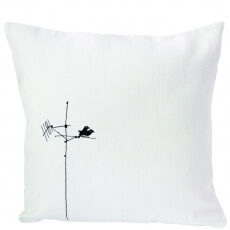 Charlene Mullen Cushion Lovebirds