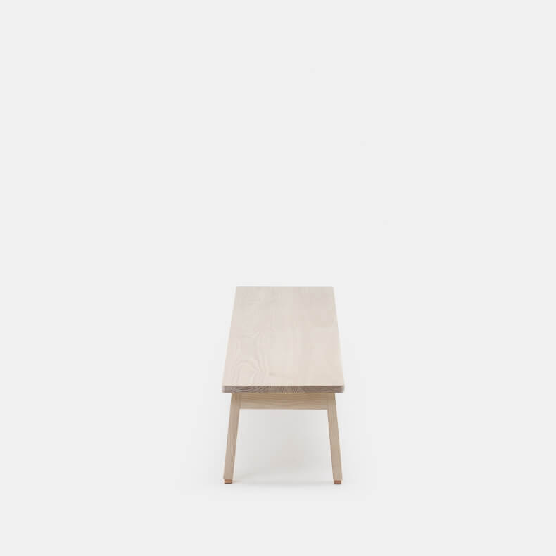Low Bench by Studioilse in white oiled ash