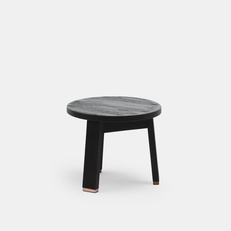Low Stool by Studioilse in black stained Ash