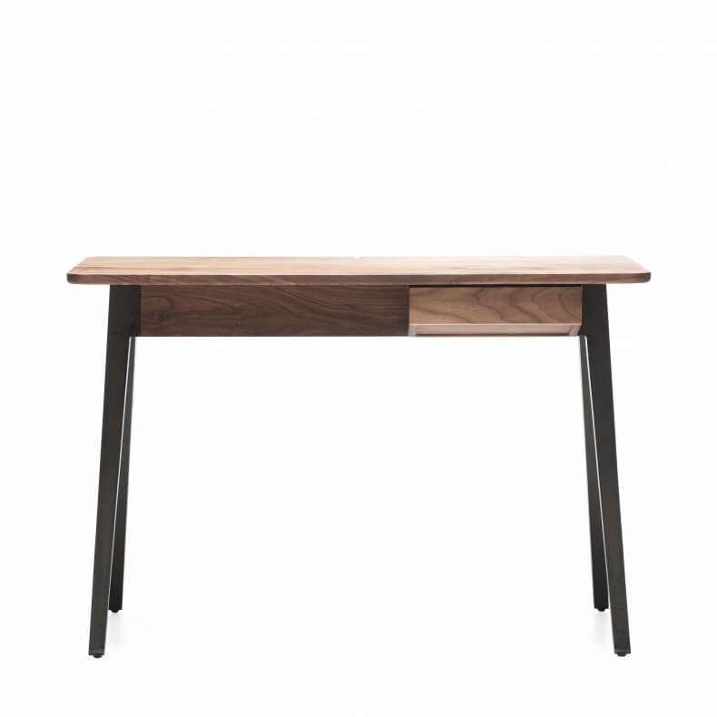 ORSON COMPACT DESK SHOWN IN DANISH OILED WALNUT