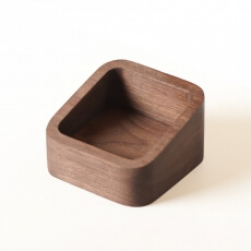 Small Storage Tray for Orson Desk by Matthew Hilton in walnut - Suite Wood