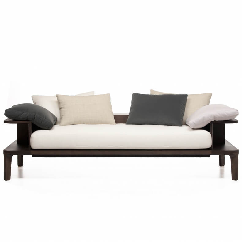Platform Sofa designed by Neri & Hu and manufactured by De La Espada.