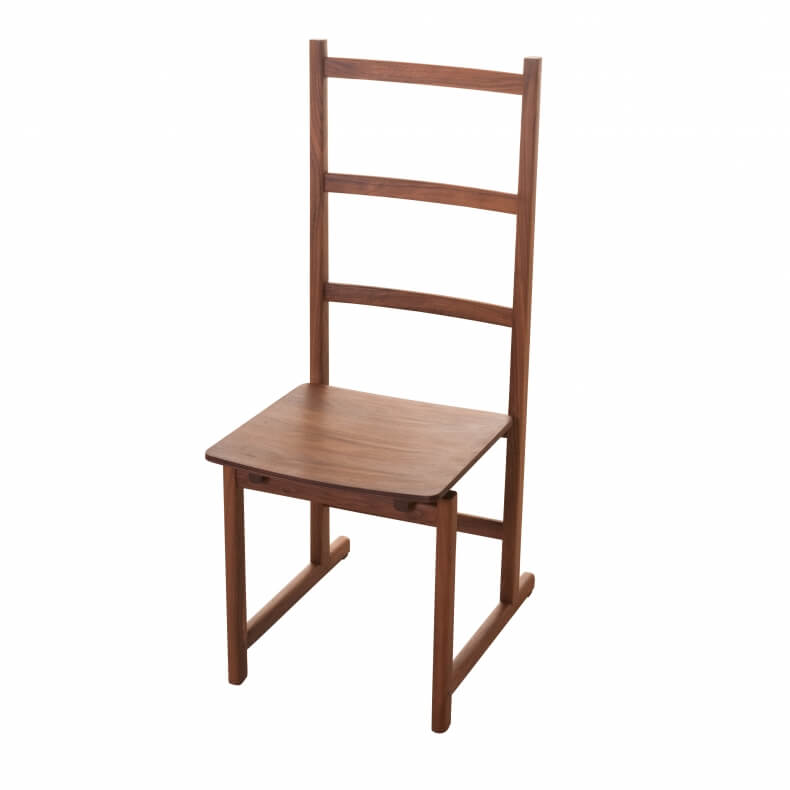 Shaker Dining Chair in walnut by Neri & Hu - Suite Wood
