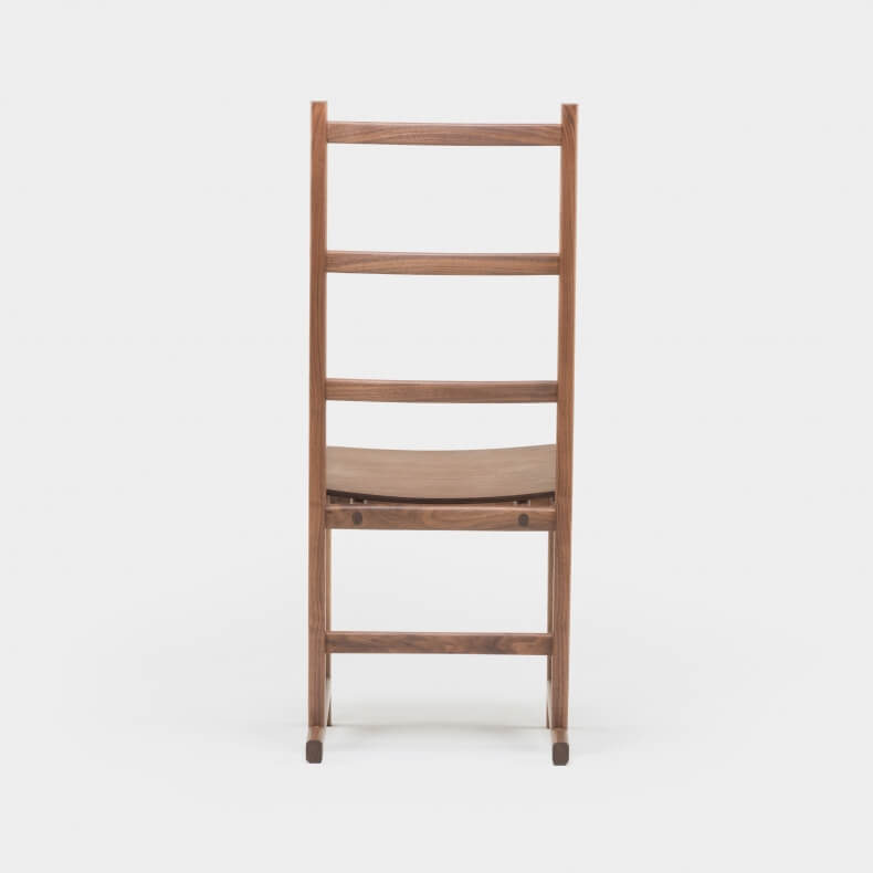 Shaker Dining Chair in walnotenhout door Neri & Hu - Suite Wood