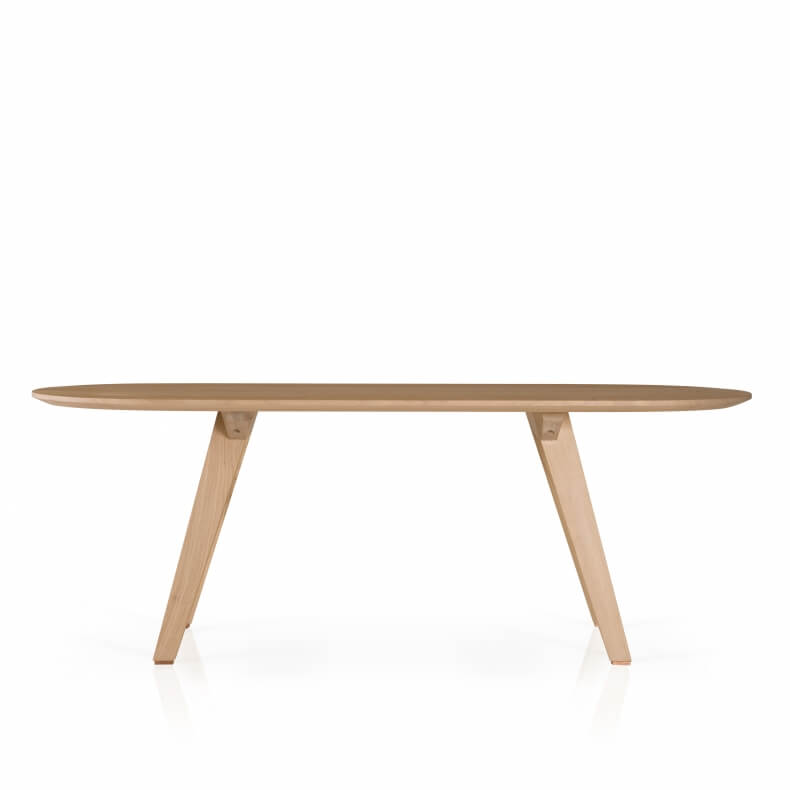 Together Fixed Table by Studioilse in oak