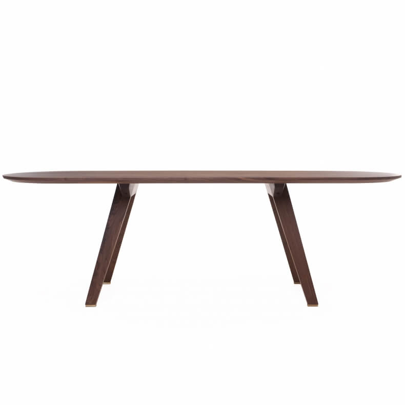 Together Fixed Table by Studioilse in walnut
