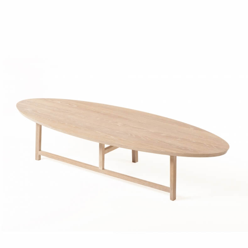 Trio Oval Coffee Table By Neri Hu Suite Wood