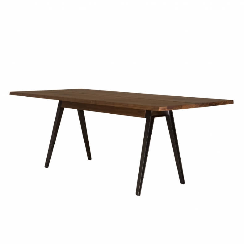 WELLES TABLE SHOWN IN DANISH OILED WALNUT