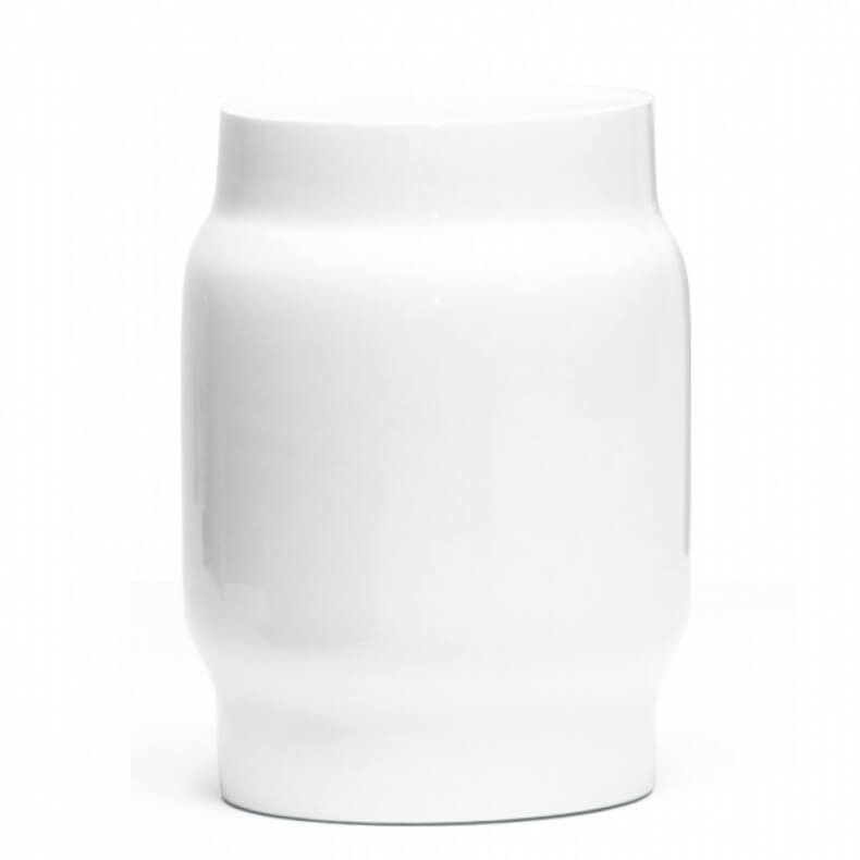 Lianou Stool door Neri&Hu in witte lak