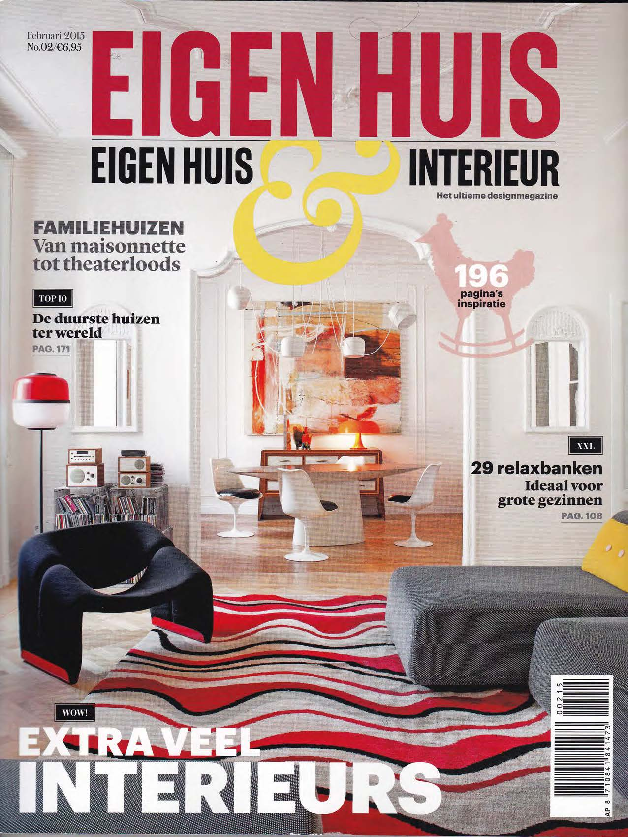Suite wood eigen huis interieur feb 2015 for Abonnement eigen huis en interieur