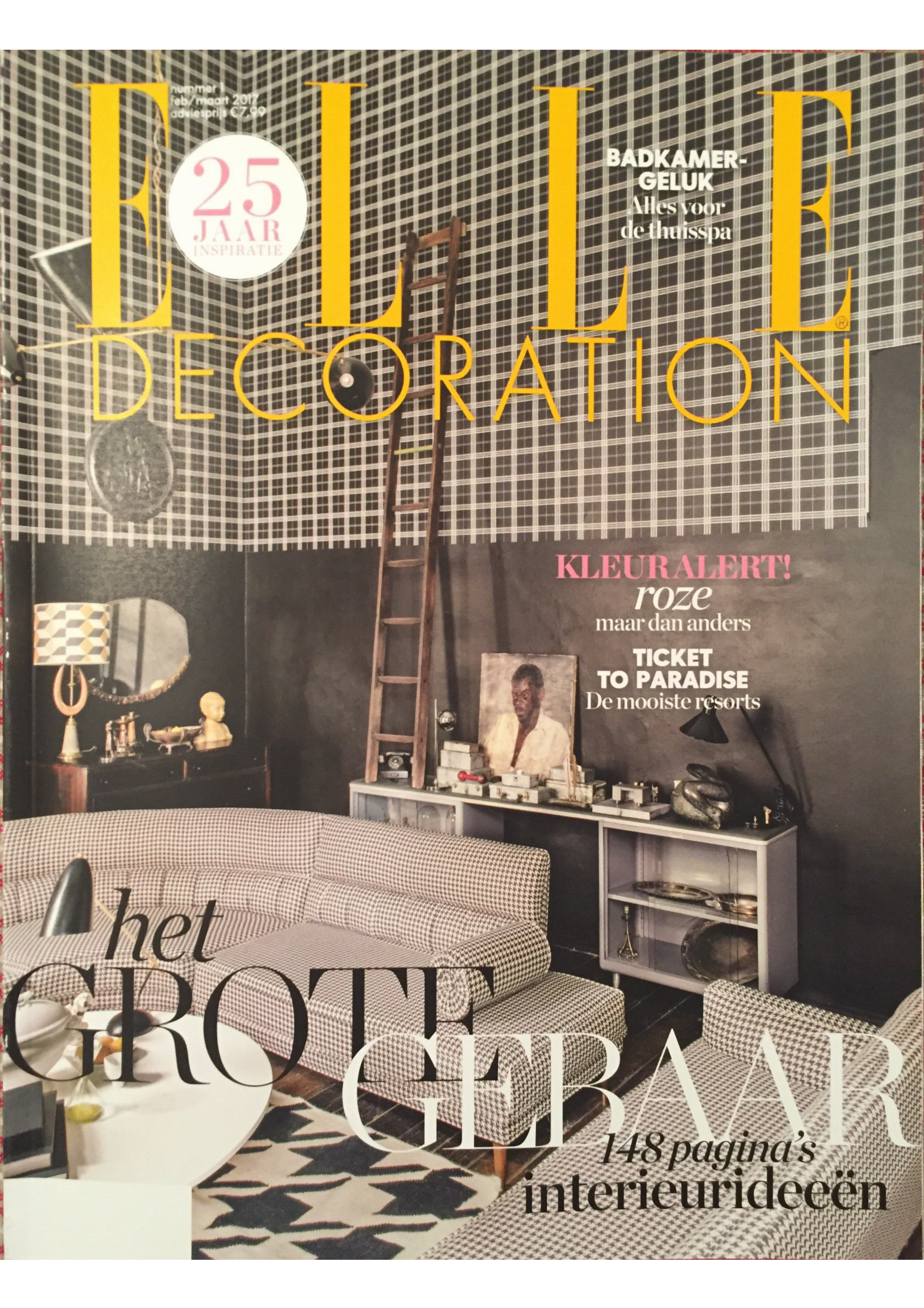 Elle Decoration Februari 2017 Studioilse via Suite Wood